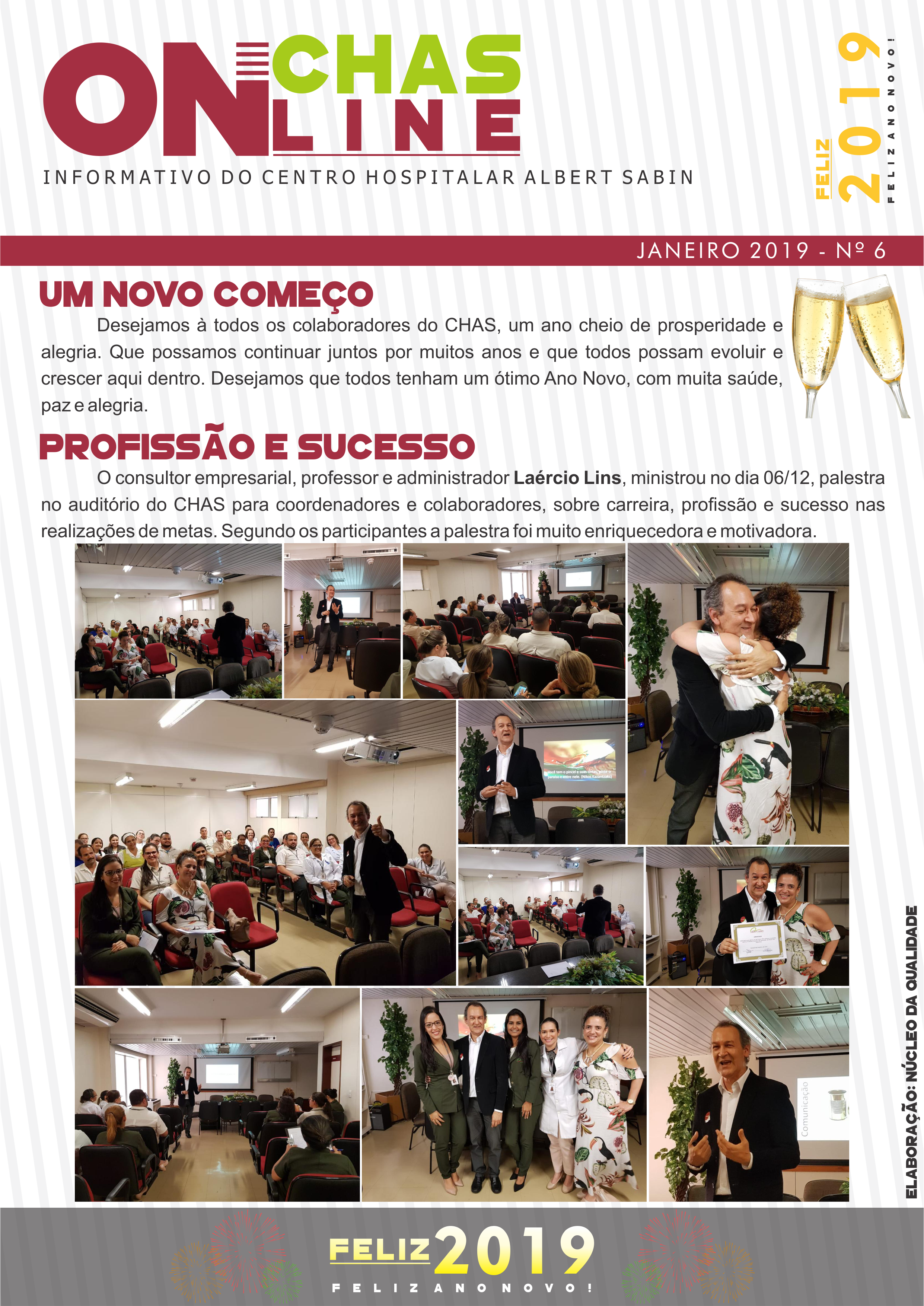 CHAS Online JANEIRO - Nº 6 - Pag.1