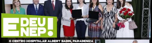 Premiação do melhor trabalho científico no 1º fórum SINDHOSP
